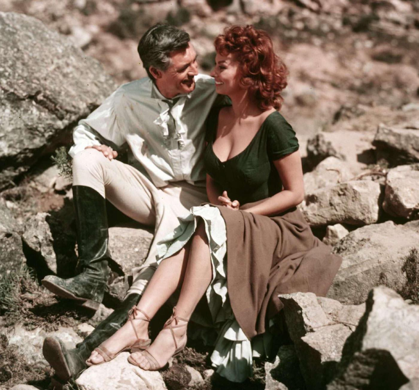 When sophia loren met cary grant le maquette for Cary grant first movie