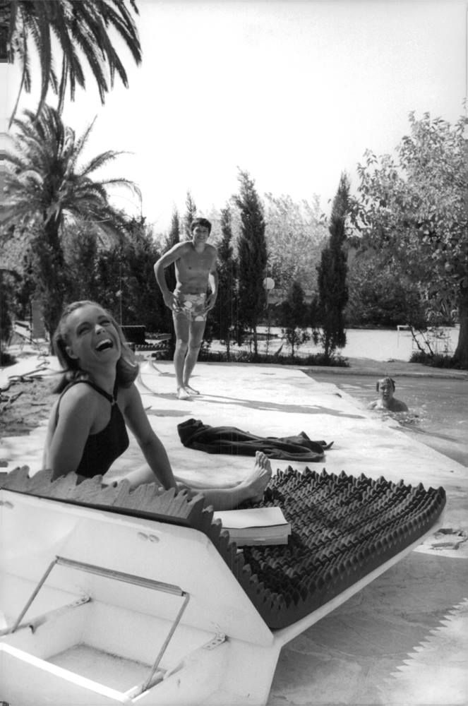When romy schneider and alain delon enchanted the world on for Alain delon la piscine