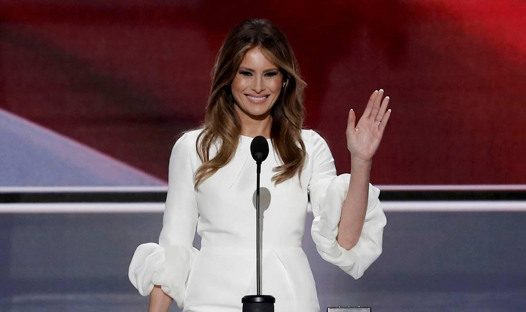 Melania Trump è nel mirino per il suo discorso, non troppo inedito