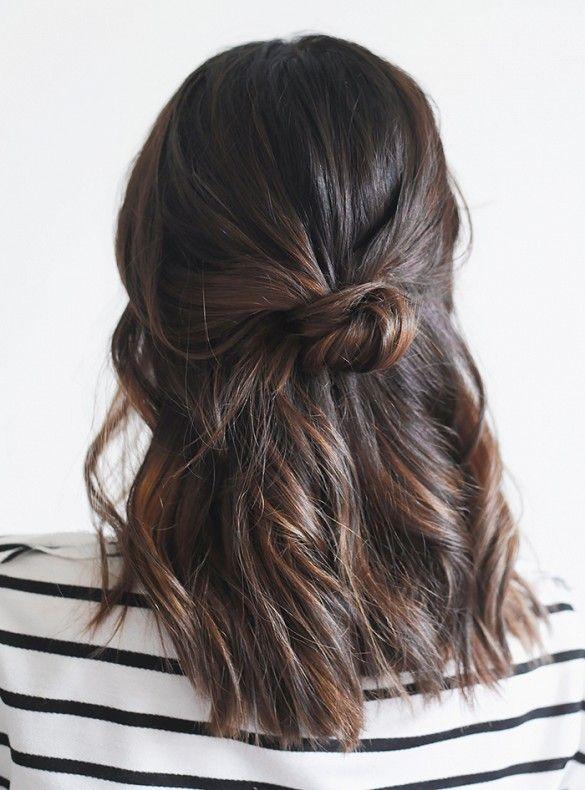 3f078abce93fd80af0efd17698390193--how-to-do-a-bun-with-medium-hair-cute-hair-styles-for-medium-length-hair