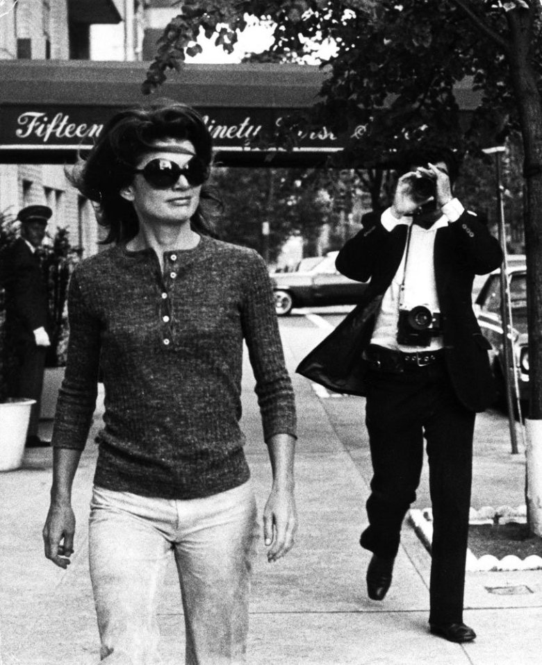 Jackie Onassis Sighting - November 7, 1971