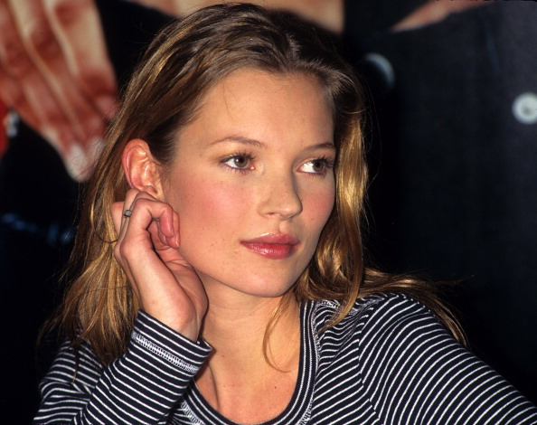 Kate Moss at Macy's Department Store Promoting Calvin Klein Jeans