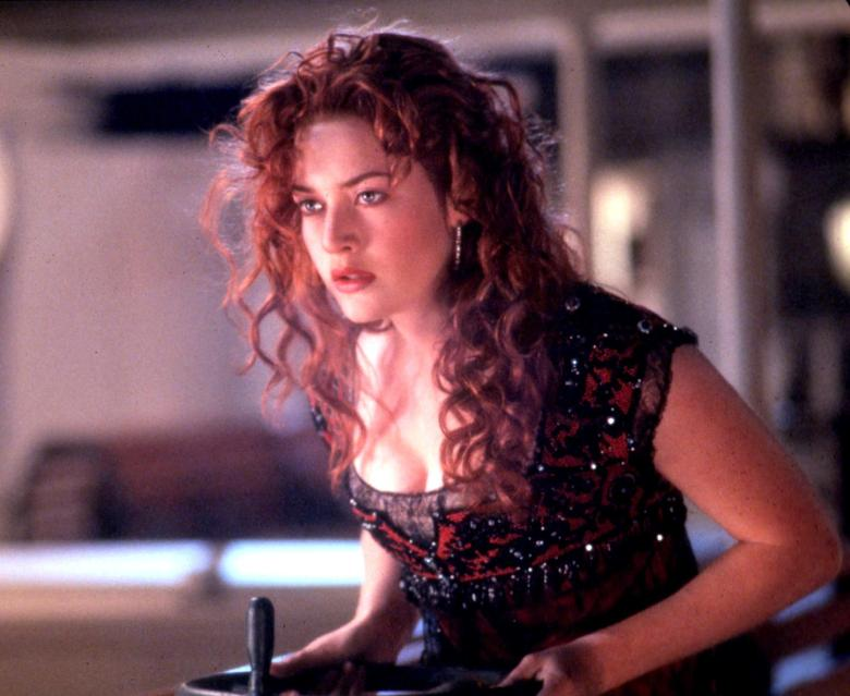 British actress Kate Winslet -- in a scene from th