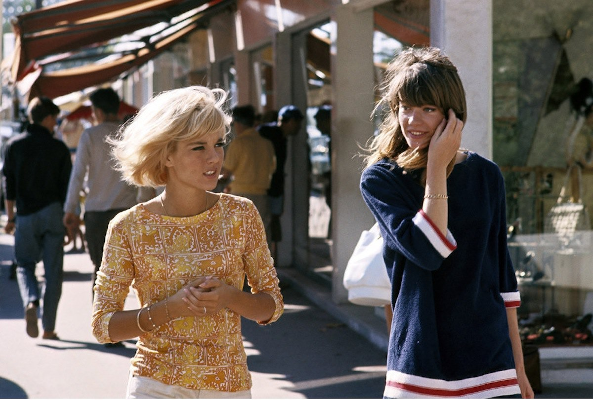 Francoise Hardy And Sylvie Vartan The Birth Of The Frenchy Chic Le Maquette