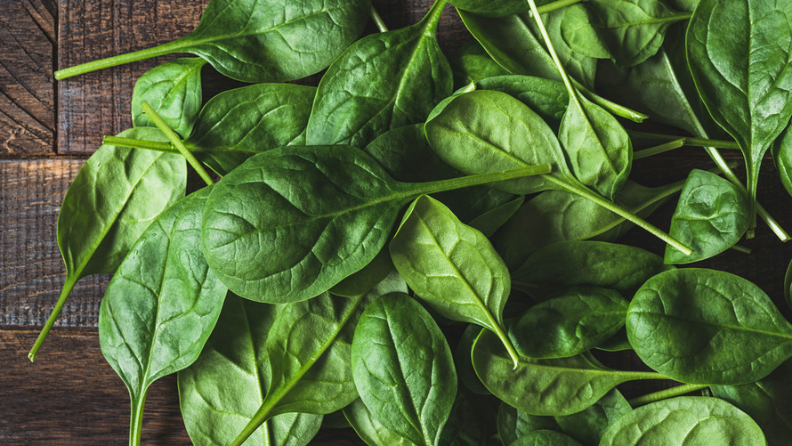 the properties of spinach