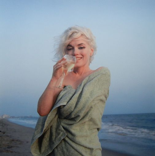 marilyn at the beach