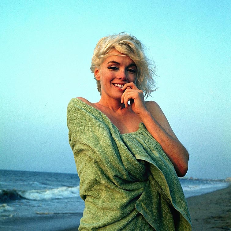 marilyn monroe last photo session