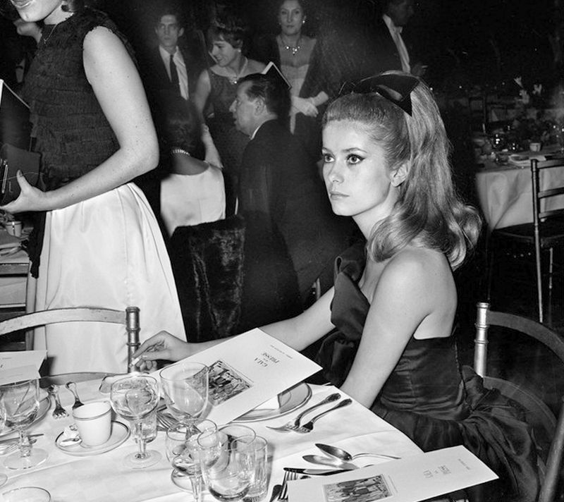 deneuve at party