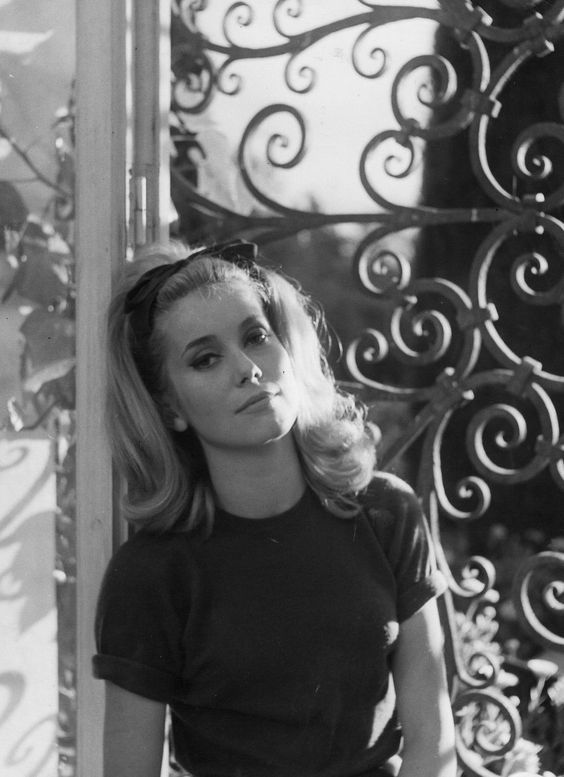 young catherine deneuve