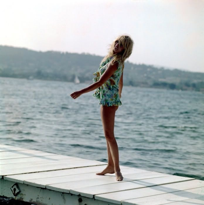 brigitte bardot at the seaside