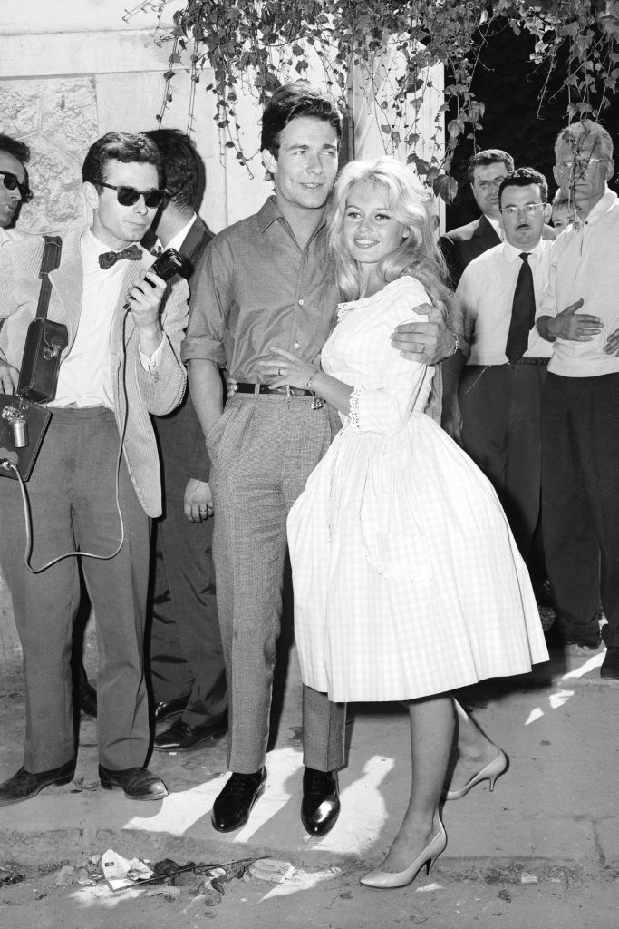 Brigitte bardot wedding day