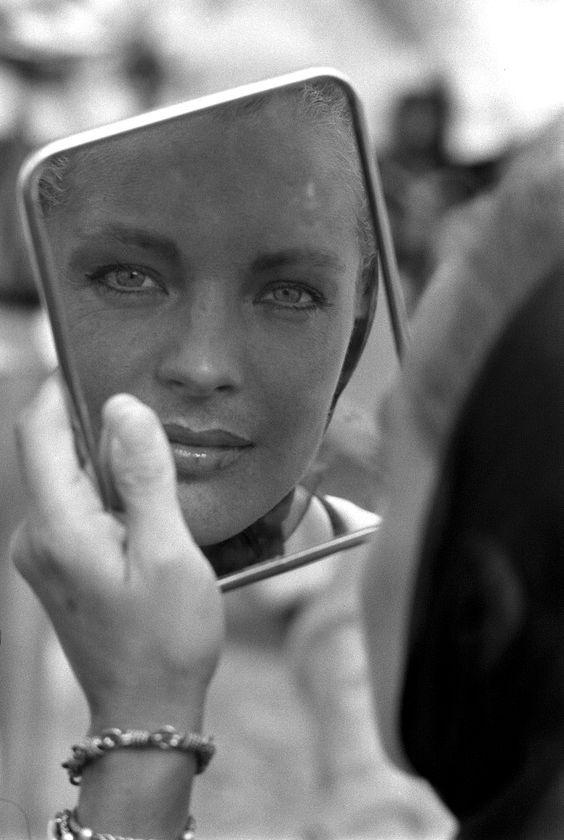 romy schneider makeup